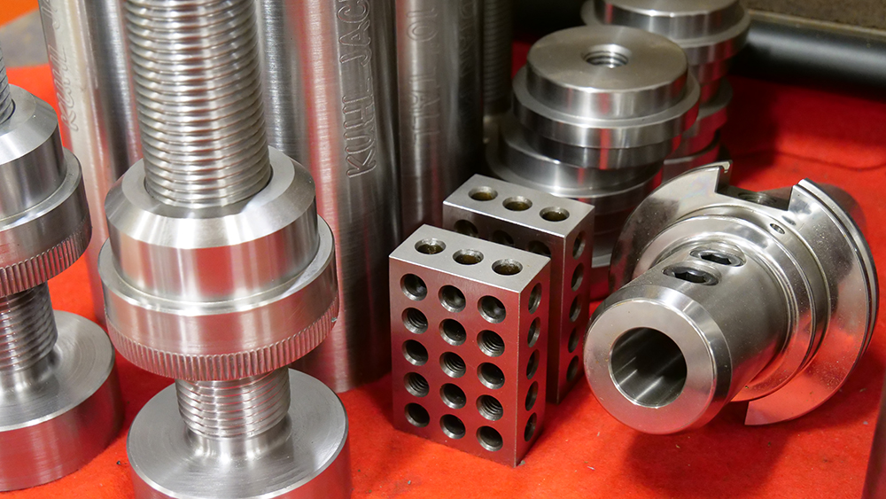 machined metal components